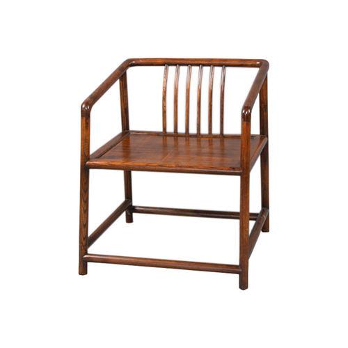 漳州复古榆木茶椅榫卯结构