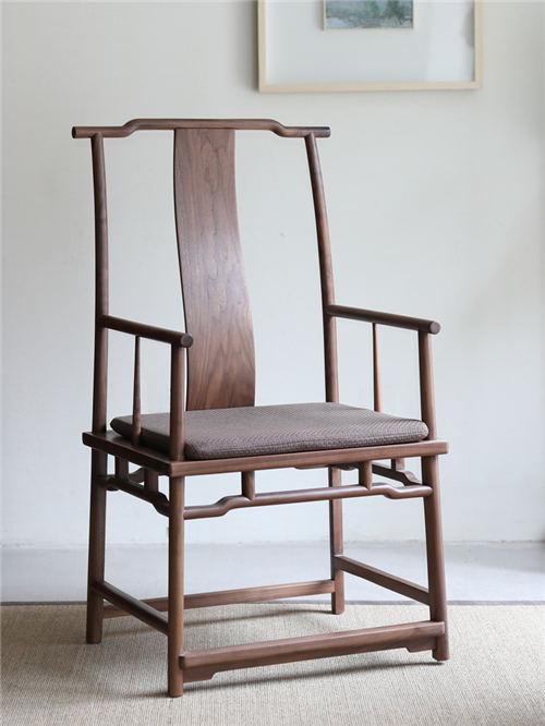 海南现代实木官帽椅圈椅厂价更实惠