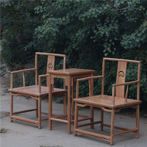黔西南实木餐椅榆木官帽椅品牌优质之选