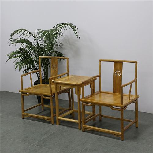 湖南中式榆木茶椅 大厂家品质保障