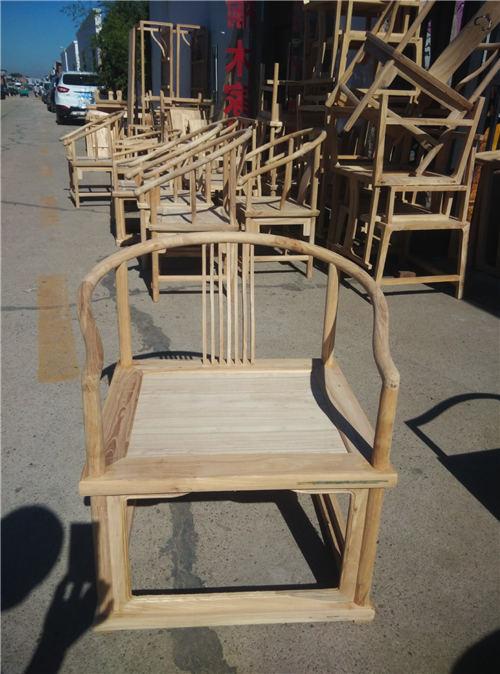 漳州新中式实木官帽椅现代简约风格