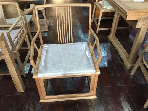 湖南明式免漆实木官帽椅圈椅品质保障