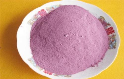 泰安紫薯雪花片食材