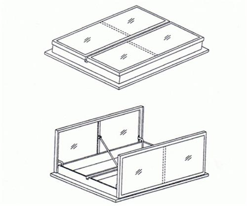 海西一字型电动采光排烟天窗哪几种形式