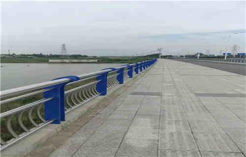 盐城景观不锈钢桥梁护栏