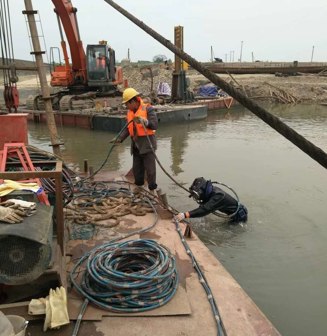 新余水下桥桩加固高起点