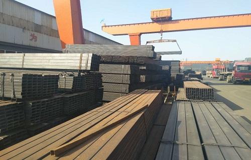 安庆200*300方矩管Q345B材质来厂视察