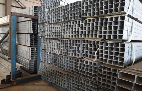 株洲镀锌直缝焊接矩形管厂家价格