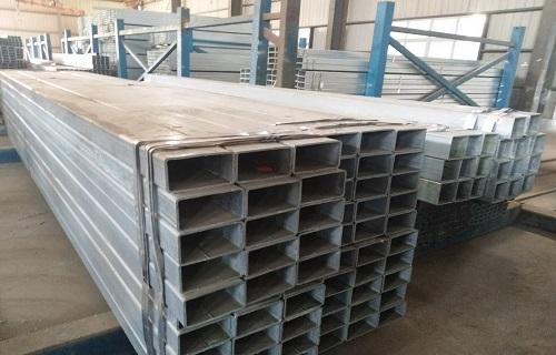 钦州镀锌结构用方钢管厂家现货