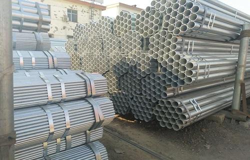 蚌埠1寸*2.5熱鍍鋅直縫鋼管廠家價格
