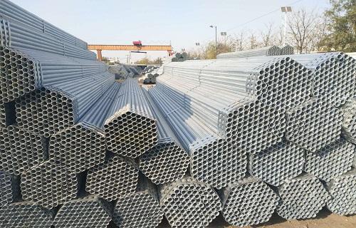 蚌埠Q235熱鍍鋅直縫焊接鋼管廠家價格表