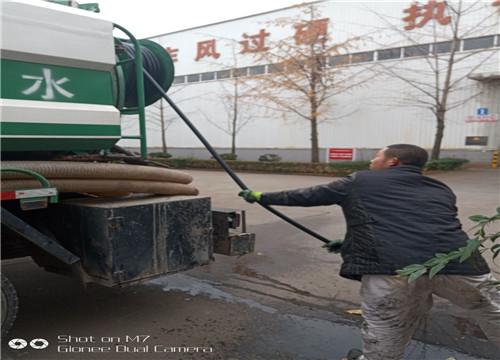 污水池清淤工序流程犍为