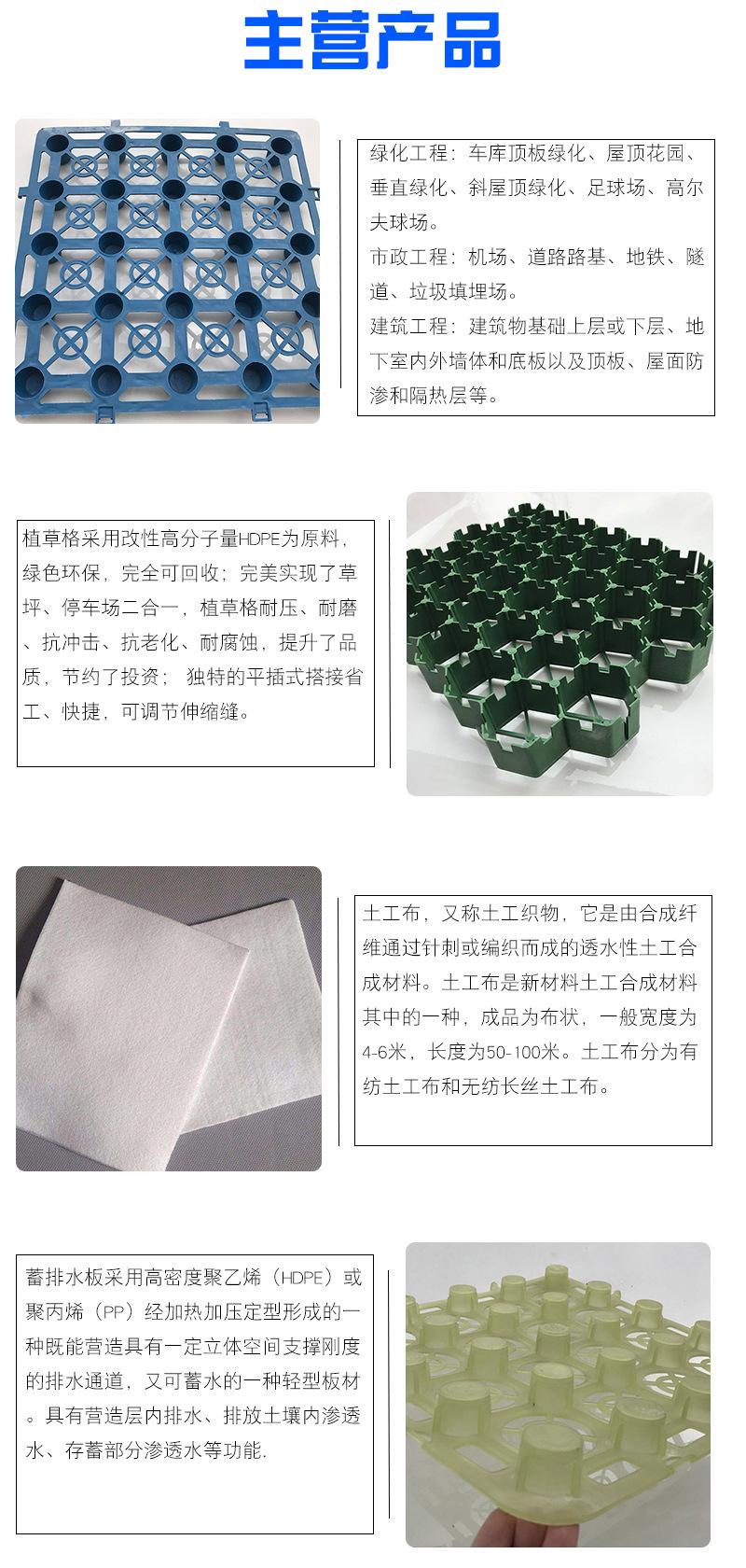 湖南凹凸型蓄水板/高1.2cm公分塑料蓄排水板--供货商