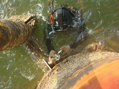 海南水下拆除公司-钢管桩拆除