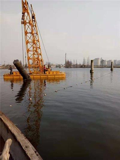 洛阳水下拆除公司-钢管桩拆除