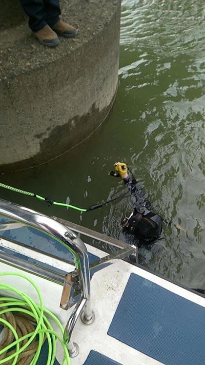 安庆市水下安装公司-潜水员安装