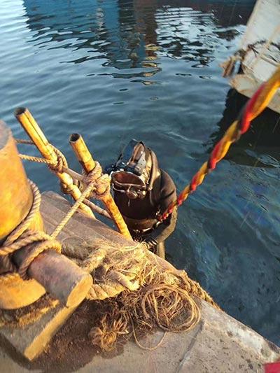 黑龙江水下打捞公司精英团队