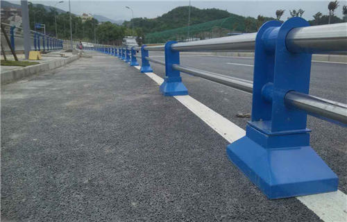 东营Q235B桥梁护栏钢板立柱参考价格