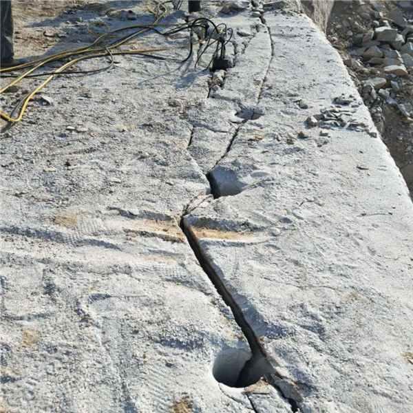 宁德岩石分裂机