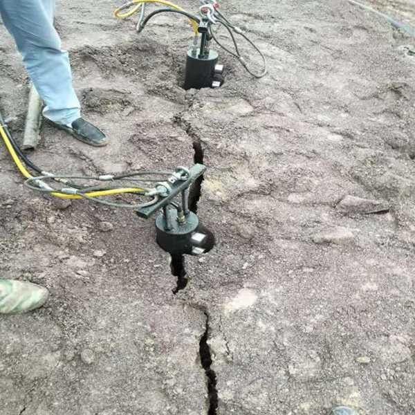 黔西南城市破石液压分裂机