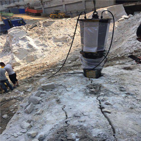 烟台硬石头开挖代替炮锤用什么开石快