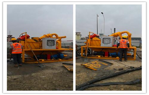 安徽蚌埠中德科工打樁泥水分離處理設備可定制