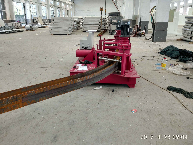 青海海南焊接H型钢用工字钢弯曲机
