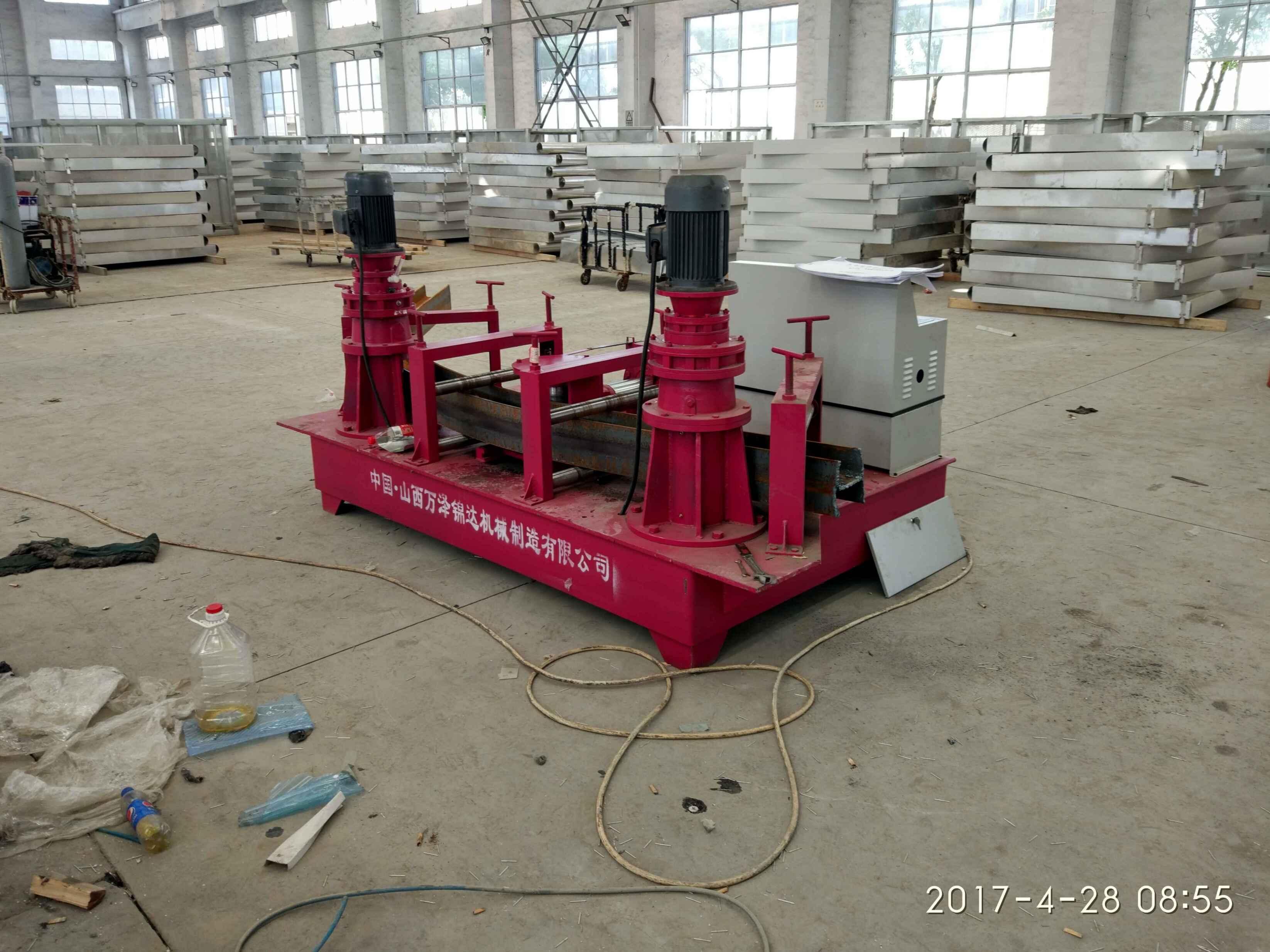 辽宁锦州立柱U型钢用冷弯机U型钢工字钢同时弯