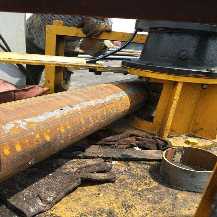 山东东营Q345BH型钢用工字钢顶弯机