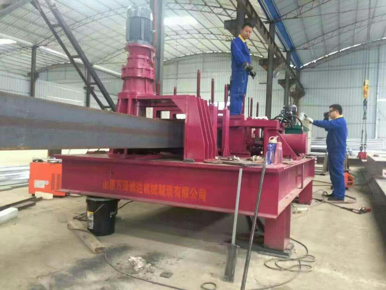 贵州黔西南防护U型钢用液压弯拱机