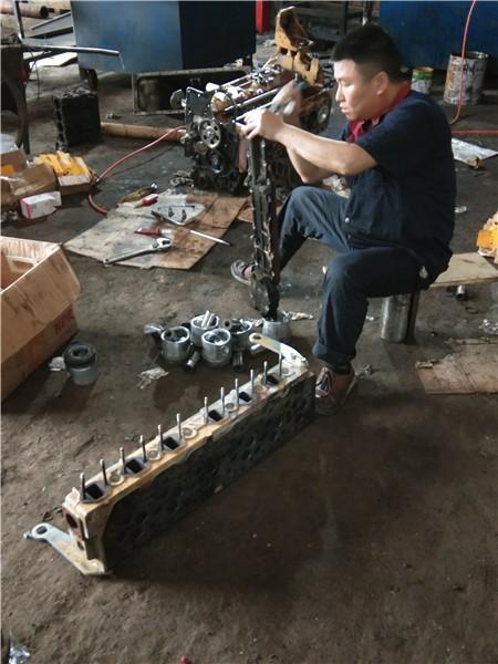嘉鱼卡特挖掘机分配阀维修售后总部河间市