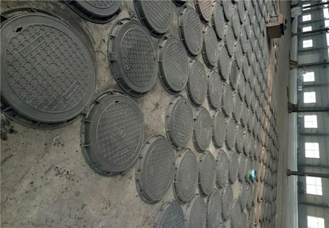 蚌埠DN600防盜球墨鑄鐵井蓋處理廠