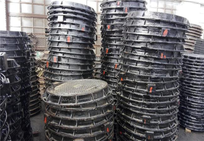 金昌球墨铸铁井盖DN600电力井盖定制多少钱