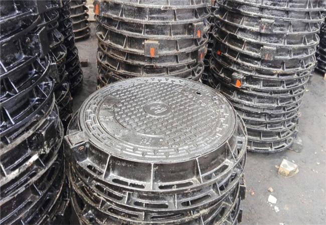 宁德轻型球墨铸铁井盖800×800铸铁方井盖