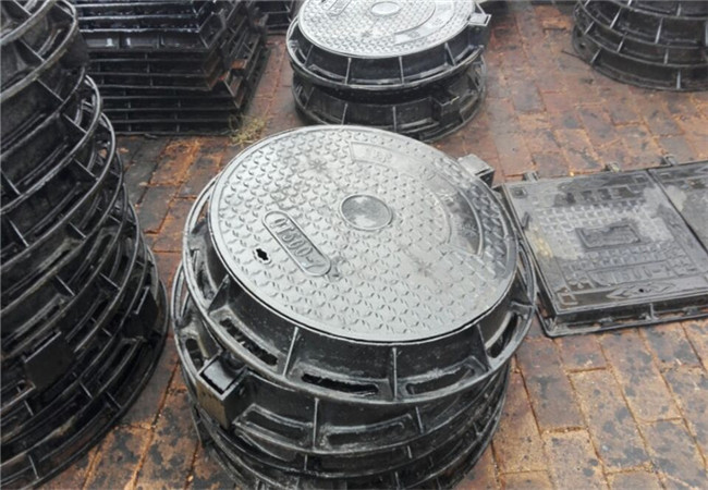 银川球墨铸铁井盖DN600双层铸铁井盖热点新闻