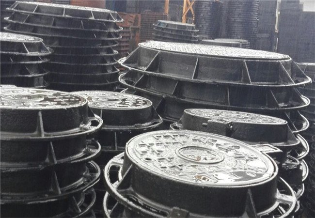 克拉玛依球墨铸铁井盖DN800消防井盖价格便宜