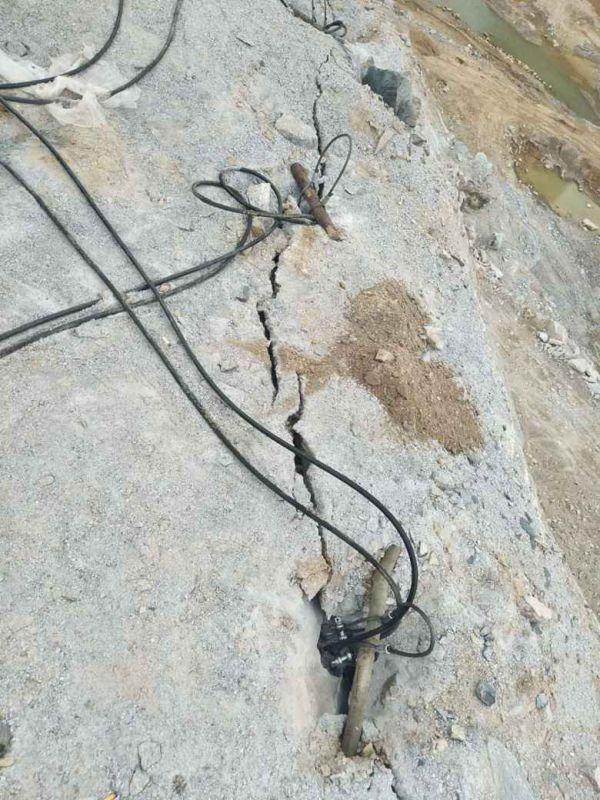 廊坊采石场不能放炮怎么开采坚硬石头