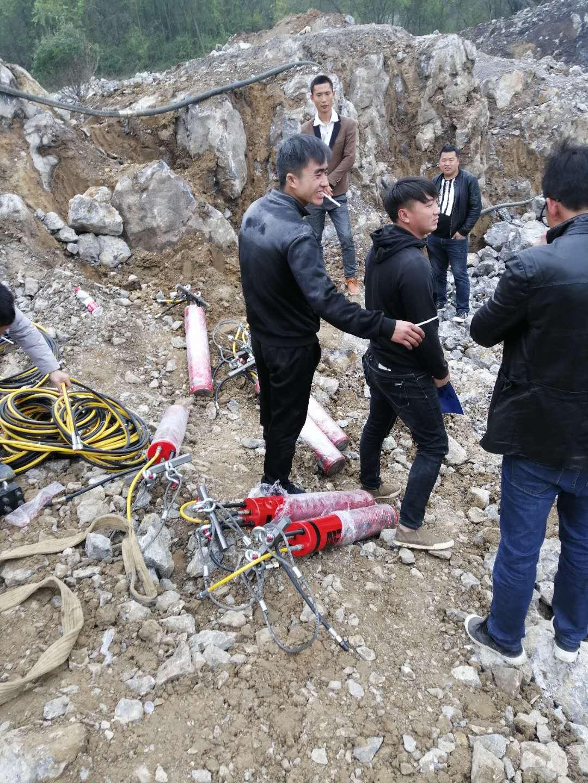 北京静态开山劈石劈裂器