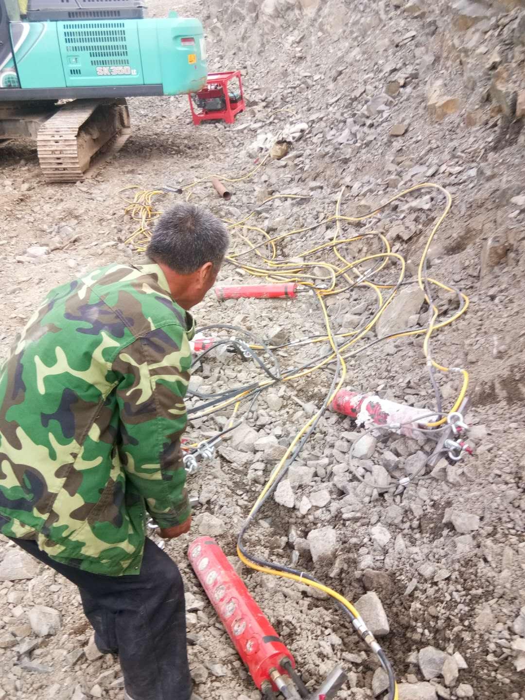 西藏分裂器开山劈石劈裂器