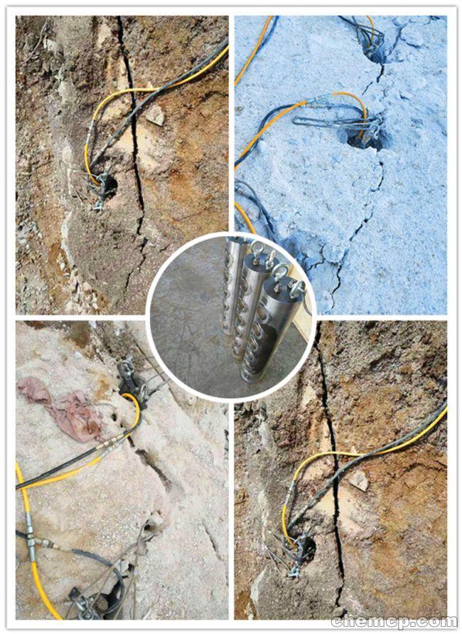 马鞍山液压劈裂岩石分裂劈裂机