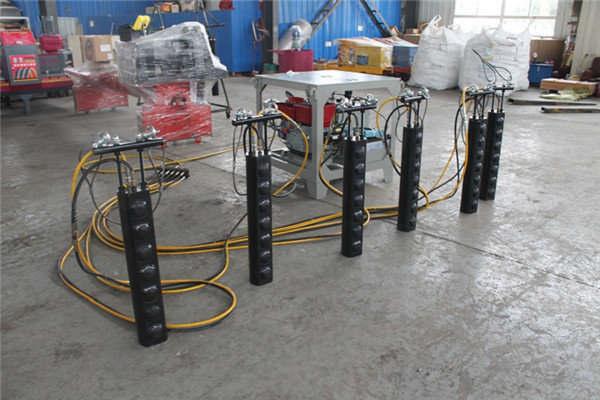 宁德供应电动柱式分裂棒采石开山机