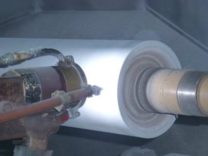 西藏化工厂锅炉热喷涂我们专业施工单位