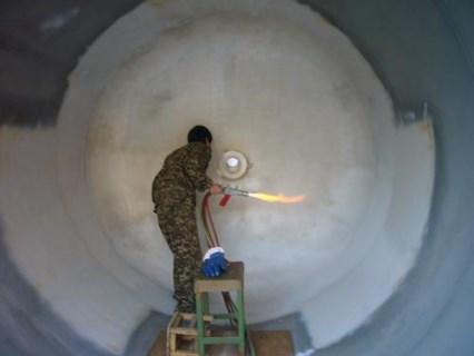阿坝流化床锅炉热喷涂施工协会