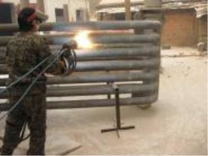 海南锅炉水冷壁喷涂专业喷涂施工队