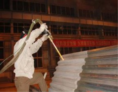 海南锅炉水冷壁防磨喷涂专业施工安全上岗