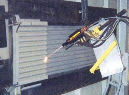 海南流化床锅炉热喷涂专业喷涂防磨修复