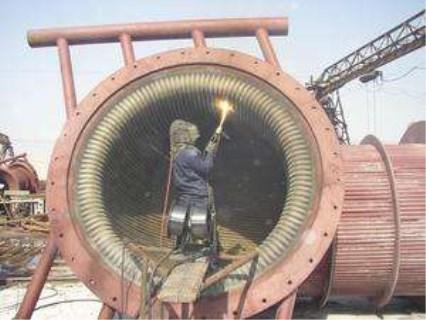 哈尔滨循环流化床锅炉热喷涂安全施工作业