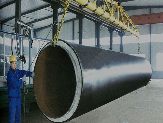 江西热水输送用焊接保温螺旋钢管