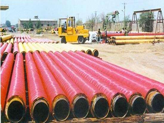湖南热水输送用直埋保温焊接钢管