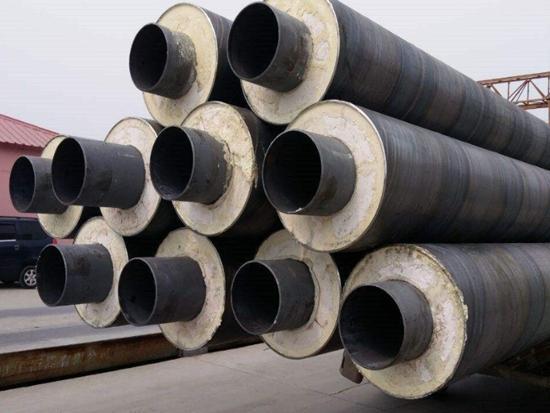 辽宁预制直埋式无缝保温钢管大量现货